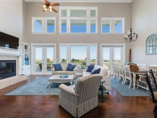 Spacious Resort Home with Lake & Bayfront with Beach Views in Pointe West Resort