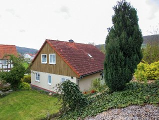 Holiday home in the North Hessian mountains