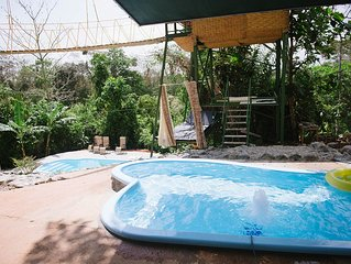 Tarzan Jungle Home w/ AC, Hot Water, FREE Wi-Fi