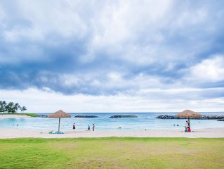 Beachfront Koolina Villa Ocean View 2BR/2BA - Modern decor w/ ocean views