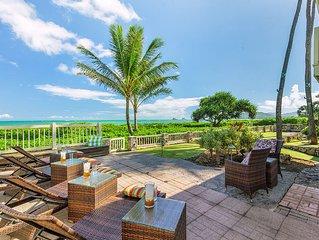 Spectacular Kailua Beachfront Home - accommodates up to 14