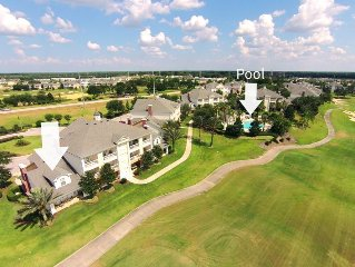 Best Panoramic Golf Views Close to Disney! Luxury Townhouse Steps to the Pool