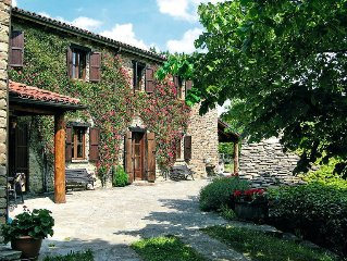 Vacation home Ca' Giustin  in Roccaverano, Piedmont - 12 persons, 5 bedrooms