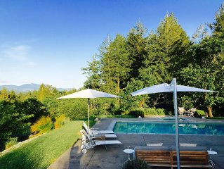 Modern Design - Luxury Estate, in Heart of Dry Creek Valley