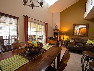 Leavenworth Vacation Rental, Luxury , Downtown,  Amazing Mountain View Condo,
