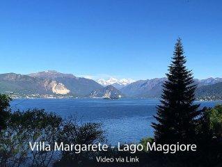Familienhaus mit traumhaften Seeblick auf Lago Maggiore und Seezugang