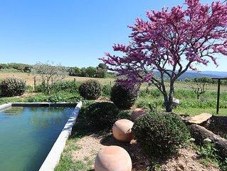 domaine saint jacques & spa maisons d'hotes avec piscine panorama a 3600