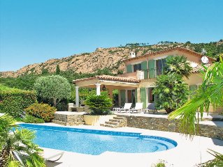 Vacation home Villa Reves de Rives  in Agay, Cote d'Azur - 8 persons, 4 bedrooms