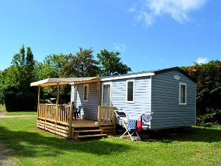 Camping des Sources*** - Mobil Home 3 Pieces 4/6 Personnes