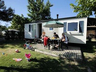 Camping Le Domaine des Iscles**** - Mobil Home 4 Pièces 6 Personnes