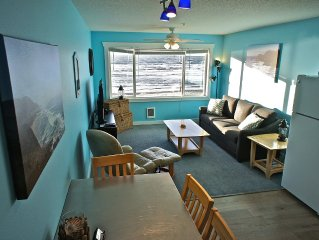 'Orion Seaquest' - Happy Oceanfront Condo - Can't get any closer to the beach!