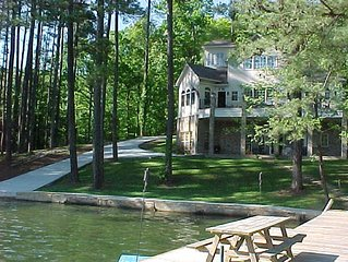 FOOTHILLS OF THE SMOKIES, WATERFRONT HOME  with kayaks, paddle boats
