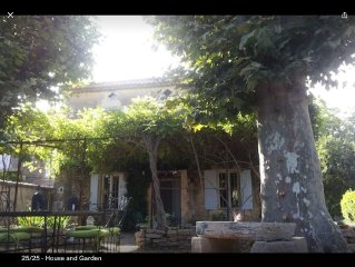 Traditional House with Pool, restored in old style, in Luberon, Provence