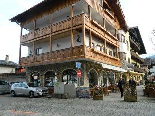 Moderne Ferienwohnung direkt an der Fussgangerzone Garmisch-Partenkirchens