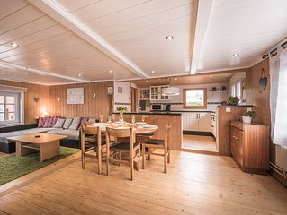 Newly Renovated Free Standing Swiss Chalet with Private Garden & Mountain Views