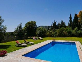 Ferienfinca MIEL strandnah mit Pool, AIRCON, fur 12+ Personen nahe Son Servera
