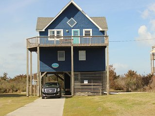 New to VRBO,  HI Five! formerly Whitecap,  Soundfront Frisco NC, ocean view.