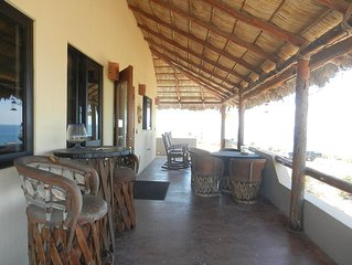 Sweeping Ocean Views from 2 or 4 Bdrm Home in Zacatitos/East Cape