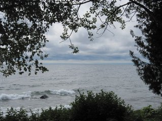 North Shore Lake Superior Townhome Just Steps Away From The Edge Of The Water!