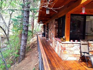 Modern Cabin Inside Sf National Forest 12 Miles to Plaza