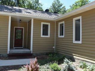 2013 Custom-built Home overlooking Platte Lake