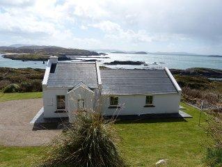 Haus am Atlantik in Bunavalla, Cahirdaniel Kerry, ein Hafen fur Korper u Geist