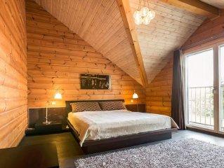 SUITE FAMILIALE 48 m² dans une maison en bois massif
