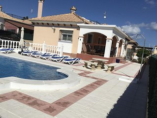 Luxury Detached Villa With Private Pool, Now With WIFI