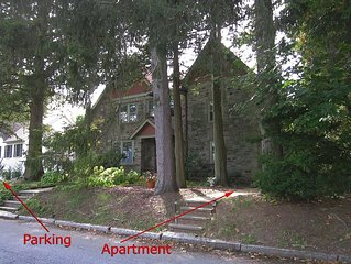 Gorgeous Quiet Old World Charm White Plains Private Apartment Parking!