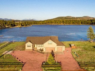 Luxury Lake Front Property near Golf, Downtown Williams, Train & Grand Canyon