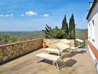 Vacation home Casa Valluccia  in Tavarnelle Val di Pesa, Florence and surroundi