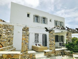 Peaceful Family Villa At The Heart Of Sifnos Lively Capital
