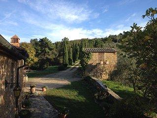 exklusives Ferienhaus mit Pool im Herzen der Toskana für max. 8  Erw.+ 4 Kinder