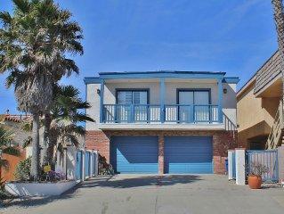 Beautiful oceanfront home on Silverstrand Beach.