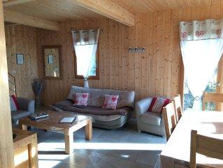 Beau chalet neuf,calme et spacieux, 3ch, WIFI, vue sur Gerardmer avec terrasse.