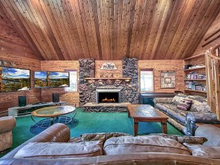 Living Room/TV's/Fireplace