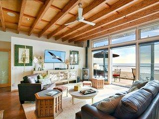 Exclusive Oceanfront Cayucos Loft! Amazing Views. Summer Dates Open!