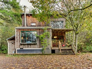 Dog-friendly cabin in the woods for privacy, quiet, and calm