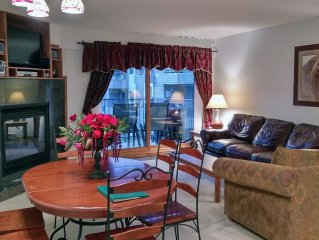 BC West #J-2: Deluxe 2BR Condo w/ FREE Skier Shuttle, Heated Pool, Hot Tubs