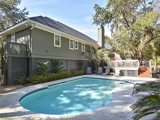 Beautiful Kiawah Island Home with Open Floor Plan & Private Pool !