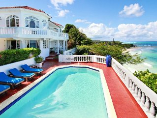 WATERFRONT! POOL! BEACH! COOK! HOUSEKEEPING! SPOILT! Quadrille, Silver San