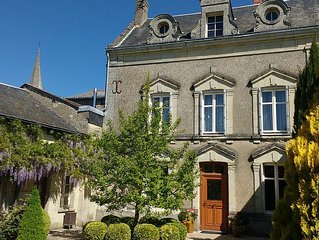 Beautiful Manor House in Loire Valley Wine Village