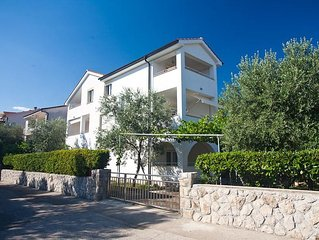 05202 Lovely apartment in Krk