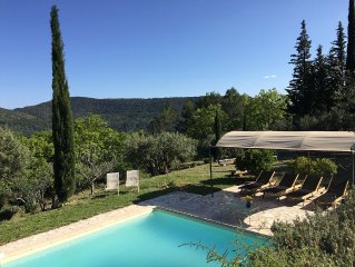Beautiful Villa With Private Pool, Big Lovely (Olive) Garden and Stunning Views!