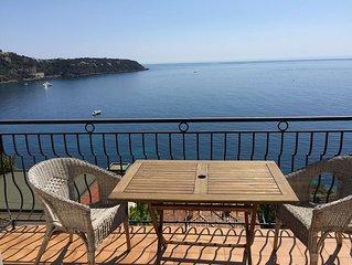 appartement, manifique vue mer, a 2 pas de la plage, tres proche Monaco