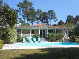 Villa Eden Parc 2 chambres, piscine privée, vue directe sur le golf