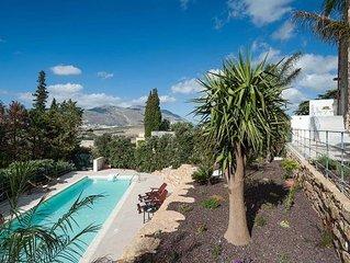 Villa in Buseto Palizzolo, Sicily, Italy