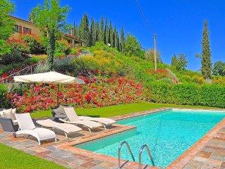 Superb villa with private swimming pool and classy interiors in San Gimignano
