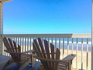 Kure Beach Oceanfront Condo with Resort-Style Amenities; pools, beach, tennis,
