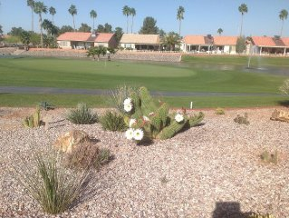 Sunbird over looking 12th green (Yes to Pets), Chandler AZ vacation rental